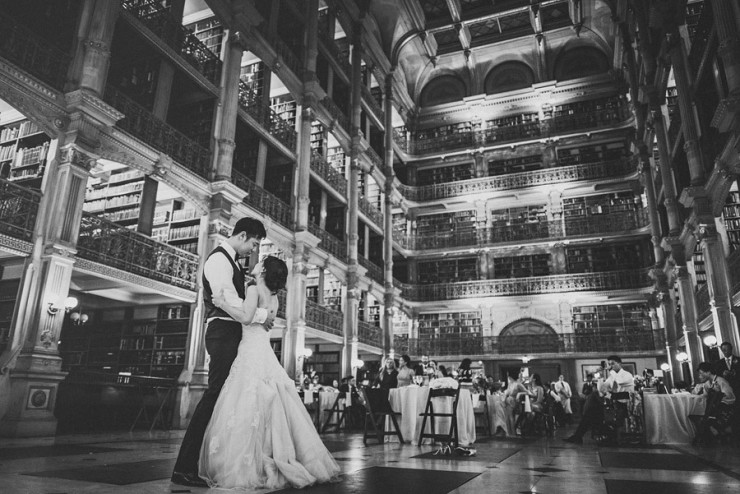 inspiring-wedding-locations-minskphoto-The George Peabody Library in Baltimore by Sam Hurd