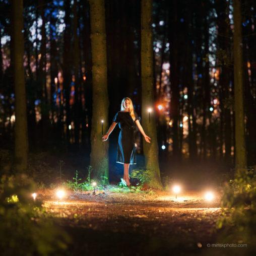 Night levitation witchcraft